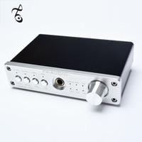 kulaklık amplifikatörü dac toptan satış-Freeshipping ses efekti EQ işlemci PRO USB dekoder DAC PCM2704 MAX9722 yükseltilmiş versiyonu + kulaklık amplifikatör