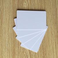 Wholesale contactless smart cards - Wholesale- 13.56MHZ FM1208 8K contactless plastic pvc cpu smart card