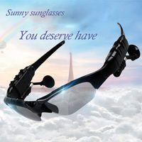 Wholesale Cheap Talk - Bluetooth sunglasses college studentes stereo talking songs driver's driving belt MP3 music headphones polarized sunglasses cheap wholesale