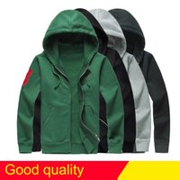 Wholesale Edge Active - Drop Free Shipping newest Hot sale Mens polo Hoodies and Sweatshirts autumn winter casual with a hood sport jacket men's hoodies big horse
