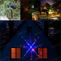 Wholesale christmas floodlights resale online - nimiled01 LED FloodLight Outdoor Waterproof IP65 Laser Stage Lights Landscape Projector Christmas Garden Sky Star Milky Way Lawn Lamps