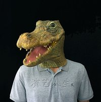 Wholesale Crocodile Halloween Mask - Animal mask The crocodile mask Animal masks The rabbit zebra mask Free shipping