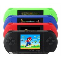 Wholesale Lcd Music Screen - Game Player PXP3(16Bit) 2.5 Inch LCD Screen Handheld Video Game Player Console With Free Card For Kid Play TV Video Game