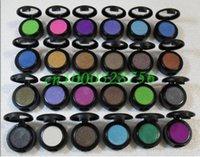 sombra de ojos diferente al por mayor-24 unids / lote maquillaje profesional sombra de ojos único pigmento con 24 colores diferentes 1.5g pigmentos de sombra de ojos