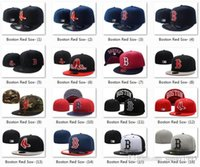 Unisex black hats for sale - 2017 All Teams Classic Navy Blue Boston Red Sox Fitted Cap Embroidered Team Logo Baseball Cap On Field Sport Fit hats for Sale