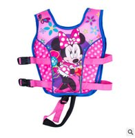 Wholesale Cool Jackets For Girls - Wholesale- Drop ship Size 2-12 baby boys and girls children swimming life vest life jacket snow Buoyancy clothing cool for kids