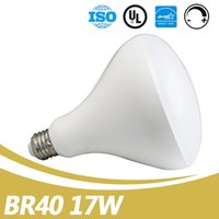 Wholesale E27 17w - Hot Sale LED BR40 Indoor Lighting Bulb Ac110-130V E26 17W Chip Led Dimmable ES UL Listed