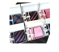 Wholesale The men s tie box suit group tie business is packing the wedding multicolor optional free delivery