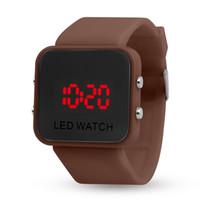 geração relógio venda por atacado-Atacado display LED esportes de lazer espelho, relógios multi-função de segunda geração, relógios de espelho de plástico, relógios eletrônicos