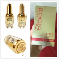 Wholesale face lift gold - BIOAQUA 24k Gold Skin Care Face Cream Products Instantly Face Lift Anti Aging Skin Care Products Wrinkle TOP Quality