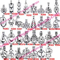 Wholesale Brass Locket Charm - 398 Designs - Akoya Oyster Bead Pearl Cage Christmas Gift Cage Locket Pendant Open Wish Charms