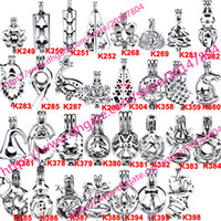 398 Diseños - Akoya Oyster Bead Pearl Cage Christmas Gift Jaula Locket Pendant Open Wish Charms