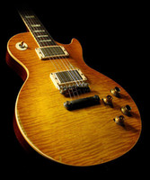 Wholesale Gary Moore Guitars - Custom Shop Gary Moore Flame Maple Top Relic Elecitrc Guitar Tribute Aged 1959 Unburst Butterscotch Collectors Choice #2 Top Selling