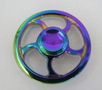 Wholesale Perfect Vehicle - Hand Spinner Fidget rainbow fidget spinner toys Colorful spinners High Speed 3-4 Min Perfect Stress Reducer HOTSALE