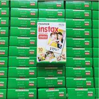 Wholesale Photo Paper Sheets - Instax mini film camera photographic papers Photo camera Film White Sheet Camera Christmas Mini 7 8 7s 25 100 Sheets Polaroid Christmas gift