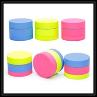 Wholesale coat smoking - 2017 New Design Zinc Alloy Herb Grinder Coated with Silicone Metal Grinder 40mm 3 Layer Parts Tobacco Smoking Hand Mullers Multi Colors