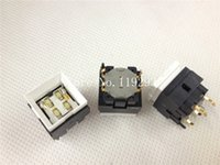 Wholesale Microswitch Tact Switch - Wholesale- [ BELLA]JAE imported Japanese yellow-green light with LED button switch push button switch microswitch Tact--20pcs lot