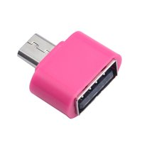 Wholesale Malloom New Standard Micro USB To USB OTG Mini Adapter Converter for Android Cell phones Accessories Top Sale