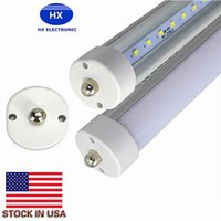 Vente 45W T8 LED Tube Light FA8 Single pin 8ft 2400mm LED ampoule fluorescente Haute luminosité 4800LM AC85-265V CE FCC UL DLC 50+