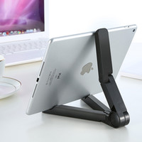 Wholesale Tablet Cradle - Universal Adjustable Foldable mobile phones Stands Mount Holder Tripod Cradle for iPad 2 3 4 5 Mini Air 7-10 inch Tablet PC