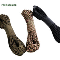 Wholesale Military Climbing Rope - FREE SOLDIER Outdoor 9-core rappel rope Bracelet clasp Rock-climbing rappel rope Military supplies kit
