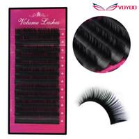 Wholesale Mixed Tray Eyelash - All Size B C D curl 1 trays ,mix 8-14mm high quality synthetic mink,natural mink False eyelash,individual eyelash extension