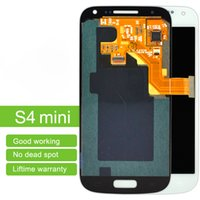 Wholesale S4 Mini New Screen - New AAA Quality LCD Screen Panels For Samsung Galaxy S4 Mini I9190 I9192 I9195 LCD Display Touch Screen Digitizer Assembly