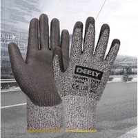Wholesale Gloves Anti Cut - Anti-Cutting Gloves Cut Resistant Gloves Level 5 Protection Food Grade EN388 Certified Safety Gloves for Outdoor Fishing A256