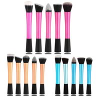 Wholesale hot brush hair care - Wholesale- Hot Selling Hot 1pcs Professional Powder Blush Brush Facial Care Cosmetics Foundation Brush Beauty Makeup Brushes free shipping