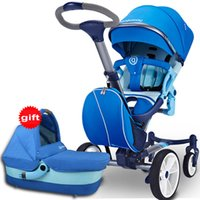 Wholesale Reversible Seat Pram - New Arrival High Landscape Baby Stroller 2 in 1, Pushchair Plus Carrycot, Fashion Folding Baby Pram, Baby By