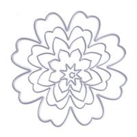 Wholesale Flower Die Cuts - ASLT Basic Flower Metal Cutting Dies Stencils for DIY Scrapbooking photo album Decorative Embossing DIY Paper Cards