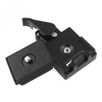 Wholesale Quick Release Plate Manfrotto - Camera Tripod Quick Release Clamp Adapter Release Plate Compatible for Manfrotto 200PL-14 Compat Plate Photo Accessories