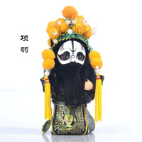 muñecas tang al por mayor-regalos extranjeros Boutique envío Tang Tang Colmillo adornos muñeca muñeca de dibujos animados de artesanía Q versión china del viento para ir al extranjero