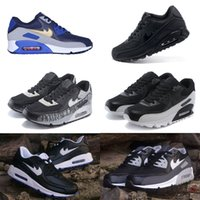 Wholesale Cheap Kids Winter Shoes - 2017 Hot Sale air 90 Running Shoes For Men Women High Quality Athletic Sports Sneakers Cheap Mens Baby, Kids Athletic Shoe