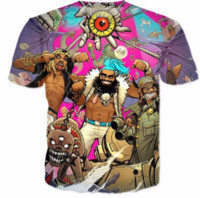 Wholesale Zombies T Shirt - Newest Fashion Womens Mens FlatBush Zombies Summer Style Tees 3D Print Casual T-Shirt Tops Plus Size