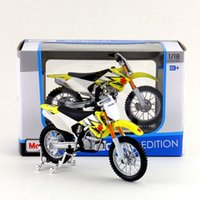 Wholesale Suzuki Toy Motorcycle - Free Shipping Maisto 1:18 Motorcycle Suzuki RM-Z250 Model Diecast Toy Collection Educational Exquisite Gift For Children