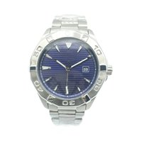 Wholesale Mens Watch Calibre - New Brand Mens Watch Aquaracer Calibre 5 Automatic Movement Mechanical Stainless Steel Casual Men Watches Blue Dial