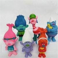 film elves achat en gros de-Film Trolls Poppy Toys Figurine Jouets Poupées Direction Poupée pour Enfants Christams Cadeau Ugly Doll