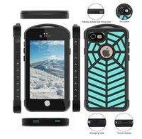 Spidercase IP68 Whaterproof Dropproof caso para iphone 7 / iphone 7plus Anti Drop Robot Case Multicolor DHL Grátis