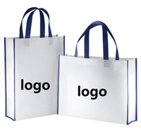 Wholesale Wholesale Party Favor Tote Bags - Custom logo Non-woven Reusable Kids Carrying Shopping Grocery Tote Bag for Party Favor in Retail Packaging custom logo printed