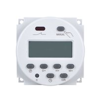 Wholesale 12v dc timers - Wholesale-Newest DC 12V Digital LCD Power Programmable Electronic Timer Time Switch 220V