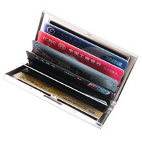 Business-ID Bank Kreditkarte Portable Halter Case Box - Metall Card Pouch Box Organizer - 6 Farben