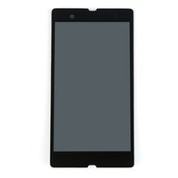 Wholesale Xperia Z Lcd - For Sony Xperia Z L36 L36H L36i c6603 c6602 With Touch display Digitizer Assembly Gift 1pcs Free Shipping Perfect Screen