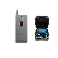 Wholesale Wireless Door Access Control - Wholesale- New arrival 433MHz 12V access control wireless remote control with receiver+shell for electric door lock can up to 100m-SB11
