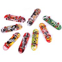 Wholesale Cool Toys For Big Kids - Alloy Stand Finger Boards Mini Finger Boards Finger Skateboard Kids Toys Stress Relief Toy Mini Toy Boards for boys cool gift