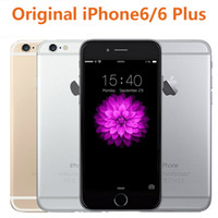 Wholesale Wholesale Unlocked Iphone Gold - Original Unlocked Apple iPhone 6 6 Plus iphone 6s Mobile Phone GSM WCDMA LTE 1GB RAM 16 64 128GB ROM iPhone6 Plus Refurbished Smart Phone