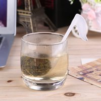 Wholesale Music Teaspoon - Music shape clear   musical note transparent Teaspoon Infuser Filter Creative Cute Music Note Fashion Tea leaf Strainer Teaspoon Infuser