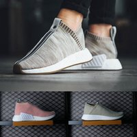 Wholesale Womens Hiking Socks Black - Originals NMD CS2 PK Kith Naked Mens running shoes womens NMD boost NMD City Sock high quality Primeknit sneakers sports shoes eur 36-44