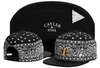 Wholesale Names Hats - Baseball cap Cayler & Sons snapback skateboard brand name golf sun hats for men women sport pattern style hip hop cap