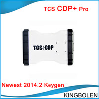 Wholesale Car Engine System - TCS CDP+ cdp plus keygen 2014.2 software with Keygen for cars trucks generics Diagnostic tool 2014R2 DHL Free Shipping